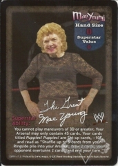 Mae Young Superstar Card
