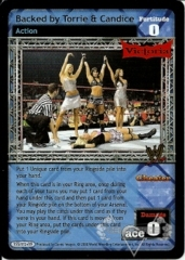 Backed by Torrie & Candice
