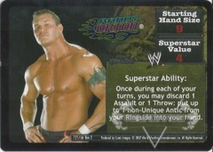 <i>Revolution</i> Randy Orton Superstar Card