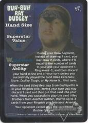 Buh-Buh Ray Dudley Superstar Card (TB) - SS3