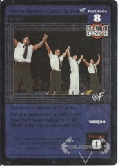 We're Here to Clean Up the WWF