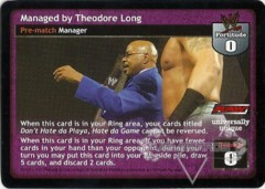 Managed by Theodore Long