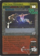 The Cena Throwback (TB)
