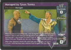 Managed by Tyson Tomko
