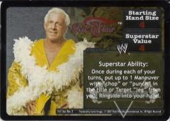<i>Revolution</i> Ric Flair Superstar Card