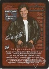 RAW GM Eric Bischoff Superstar Card
