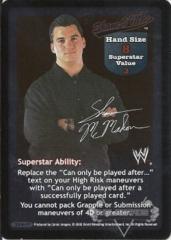 Shane O' Mac Superstar Card