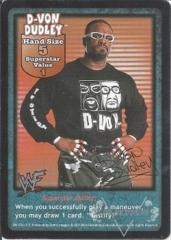 D-Von Dudley Superstar Card