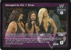 Managed by the WWE Divas