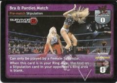 Bra & Panties Match