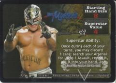 <i>Revolution</i> Rey Mysterio Superstar Card