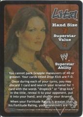 Lita Superstar Card - SS3
