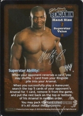 Shelton Benjamin Superstar Card