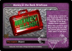 <i>Revolution</i> Money in the Bank Briefcase