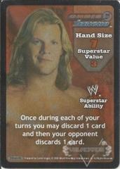 Chris Jericho Superstar Card - SS3