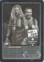 Hall & Nash Superstar Card