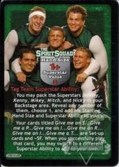 The Spirit Squad Superstar Card