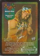 Dude Love Superstar Card