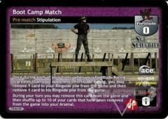 Boot Camp Match