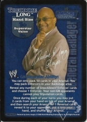 SmackDown! GM Theodore Long Superstar Card