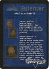 APA or A-Train?