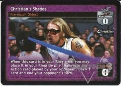 Christian's Shades (B)