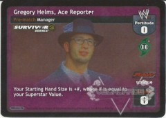 Gregory Helms, Ace Reporter - SS3