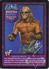 Edge Superstar Card (PROMO)