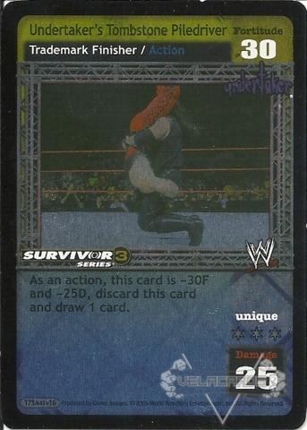 Undertaker's Tombstone Piledriver - SS3