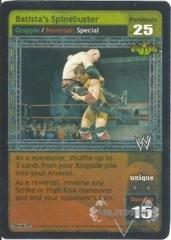 Batista's Spinebuster