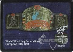 World Wrestling Federation European Title Belt (1.0)