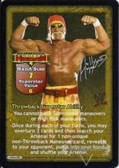 Hollywood Hulk Hogan Superstar Card (TB)
