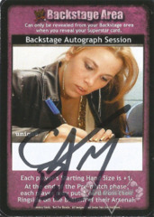 Backstage Autograph Session - CM Punk