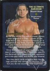 The Ultimate Survivor Superstar Card