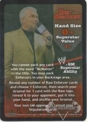 RAW GM Eric Bischoff Superstar Card - SS3
