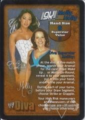 Gail Kim & Molly Holly Superstar Card