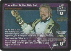 The Million Dollar Title Belt