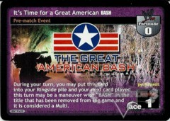 It's Time for a Great American BASH