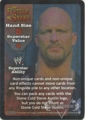 The Rattlesnake Superstar Card - SS3