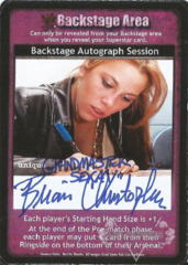 Backstage Autograph Session -