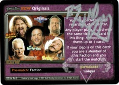 <i>Revolution</i> ECW Originals - Signed by Rob Van Dam