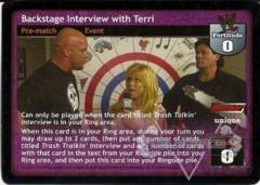 Backstage Interview with Terri