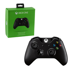 Xbox One - Controller - Wireless - Black (Microsoft)