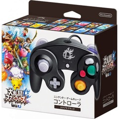Smash Bros Gamecube / WiiU Controller - Black (Japanese Import)