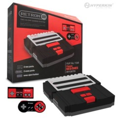 SNES/ NES RetroN 2 Gaming Console (Black) - Hyperkin