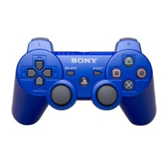 PlayStation 3 Dualshock 3 PS3 Controller (Blue)