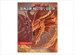 Dungeon and Dragons 5e Dungeon Master's Screen