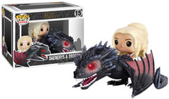 Funko Pop! Rides: Game of Thrones-Daenerys & Drogon