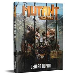 Mutant Year Zero - Genlab Alpha