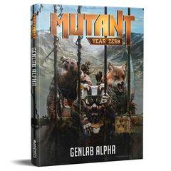Mutant Year Zero - Genlab Alpha